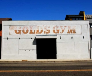 The first Gold's Gym location